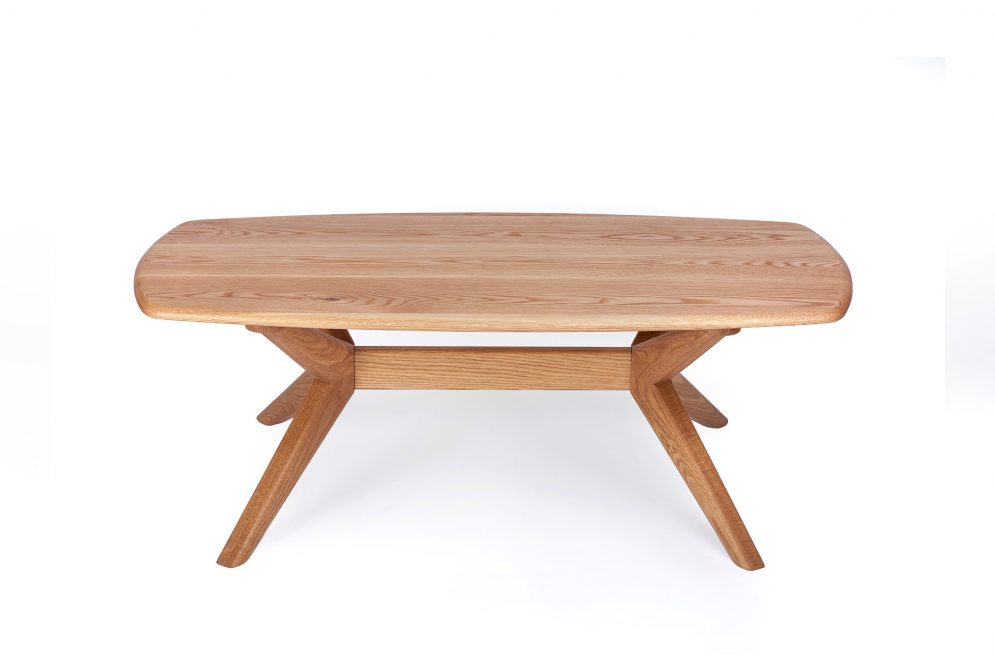 The Chantry oval coffee table - Charlie Caffyn Furniture