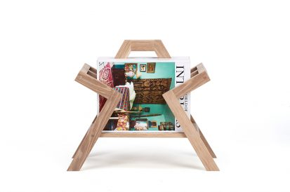 The Farleigh Magazine Holder - Charlie Caffyn Furniture