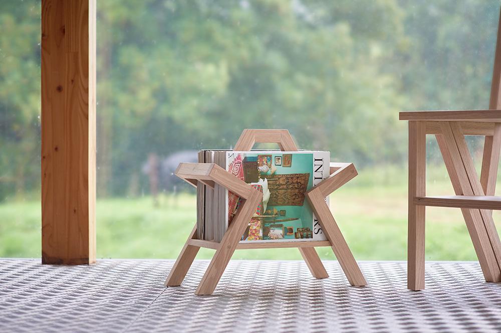 The Farleigh Magazine Holder - Charlie Caffyn Furniture