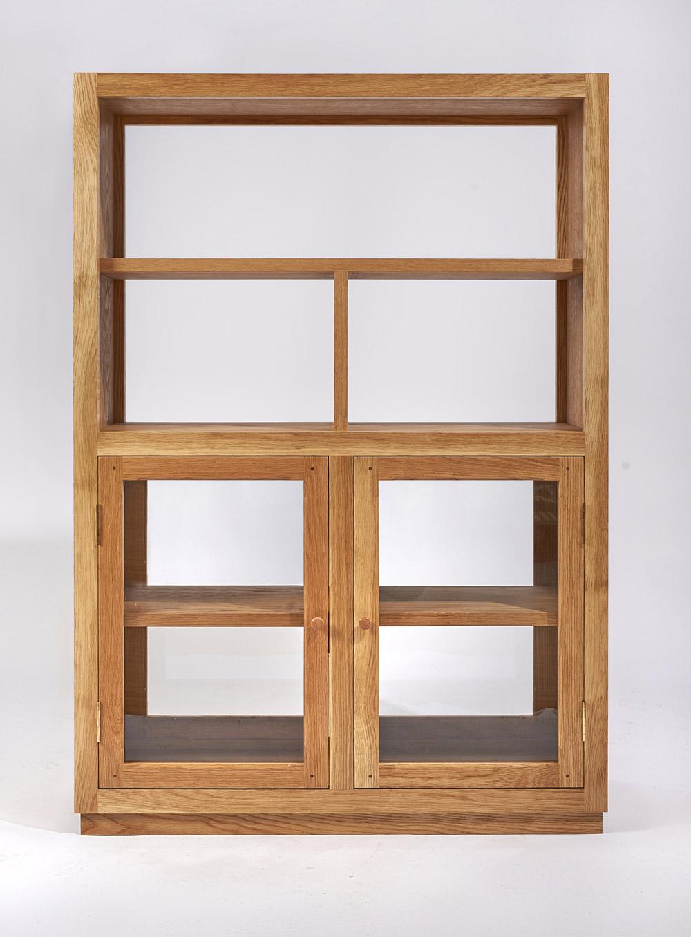 charlie-caffyn-designs-oak-and-glass-display-cabinet
