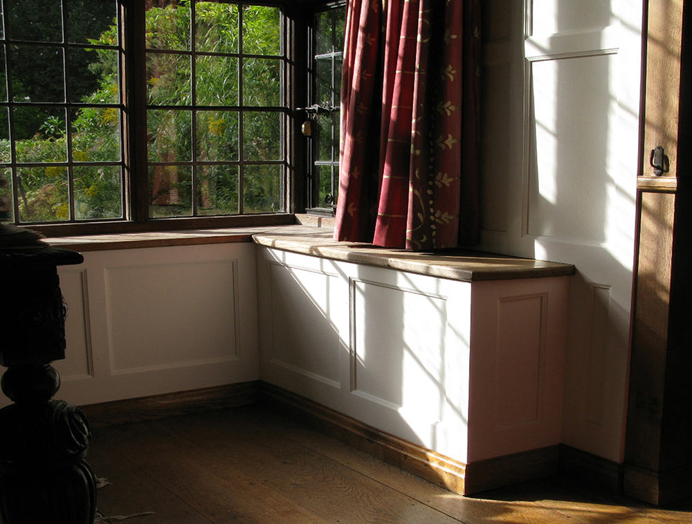 Bay Window Panelling Charlie Caffyn Furniture