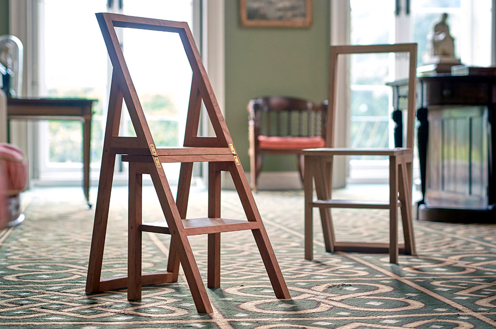 The Iford Step Chair - Charlie Caffyn Furniture