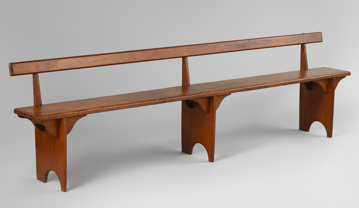 American Shaker furniture - bench