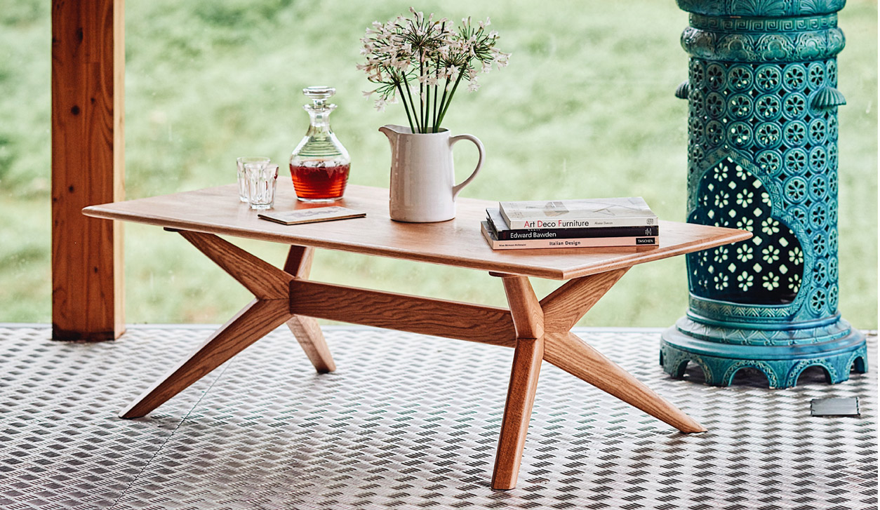Charlie Caffyn Furniture Coffee table books