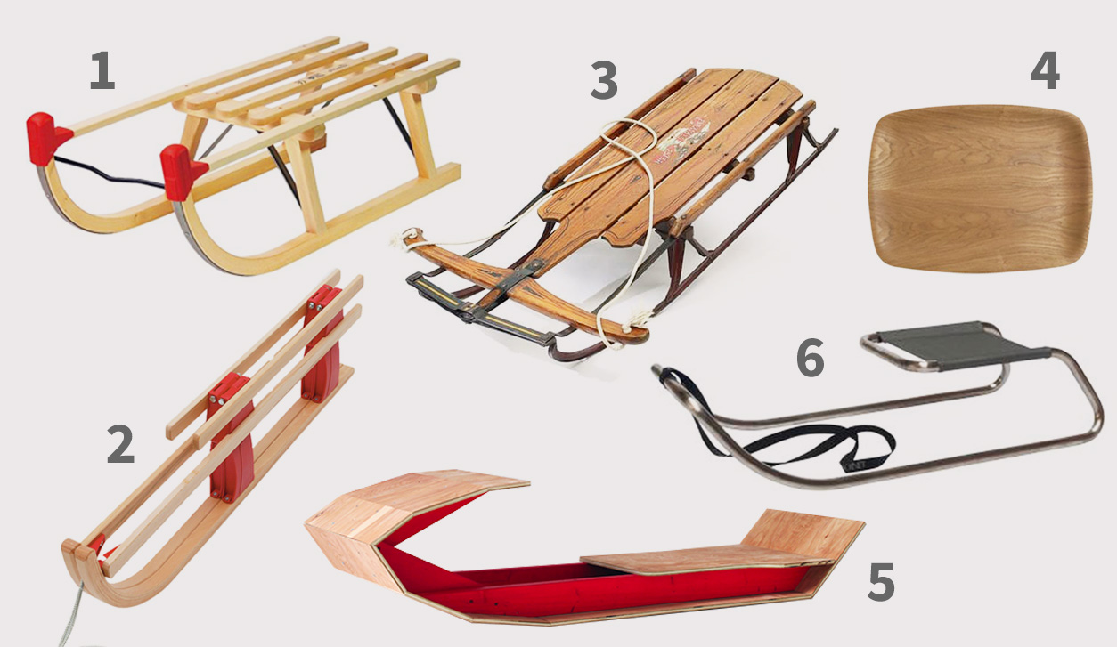 best wooden sledges