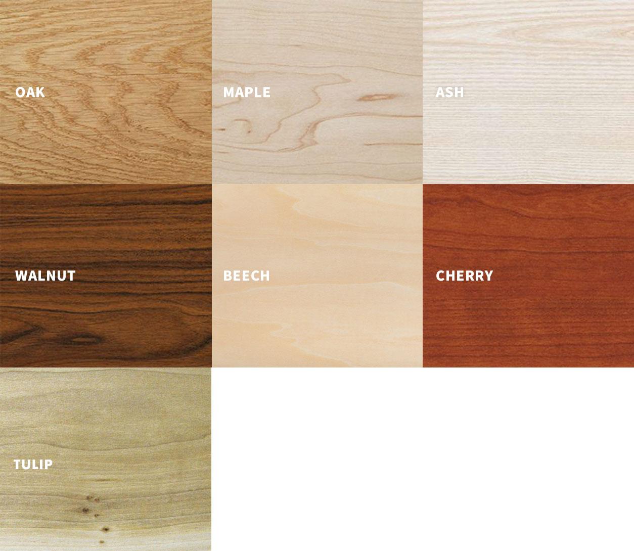 Hardwood Types