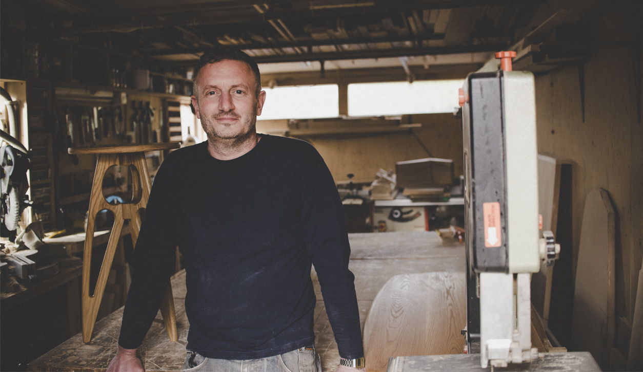 Charlie Caffyn a modern British furniture maker champions champions a new way to buy furniture