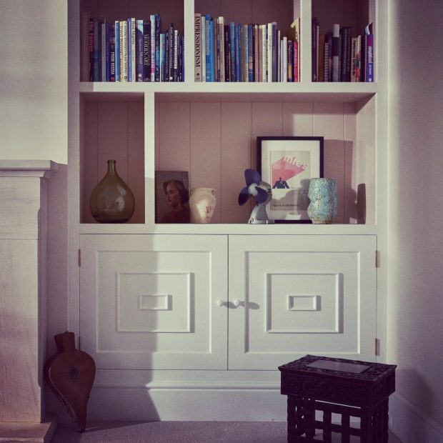 Built-in cupboards and bookcases